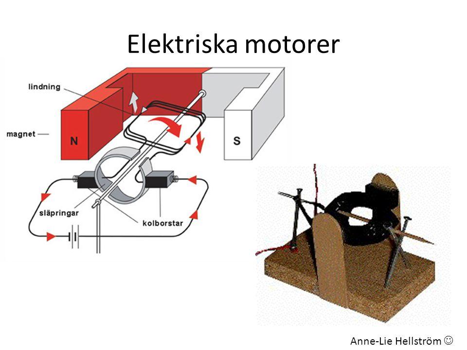 Elektriska motorer Anne-Lie Hellström 