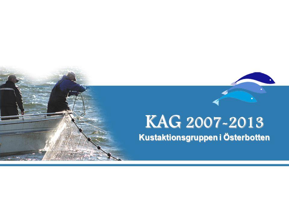 KAG 2007-2013 Kustaktionsgruppen i Österbotten