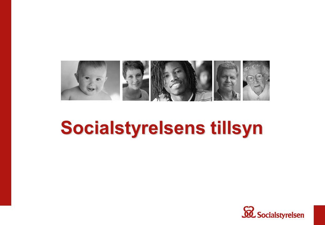 Socialstyrelsens tillsyn