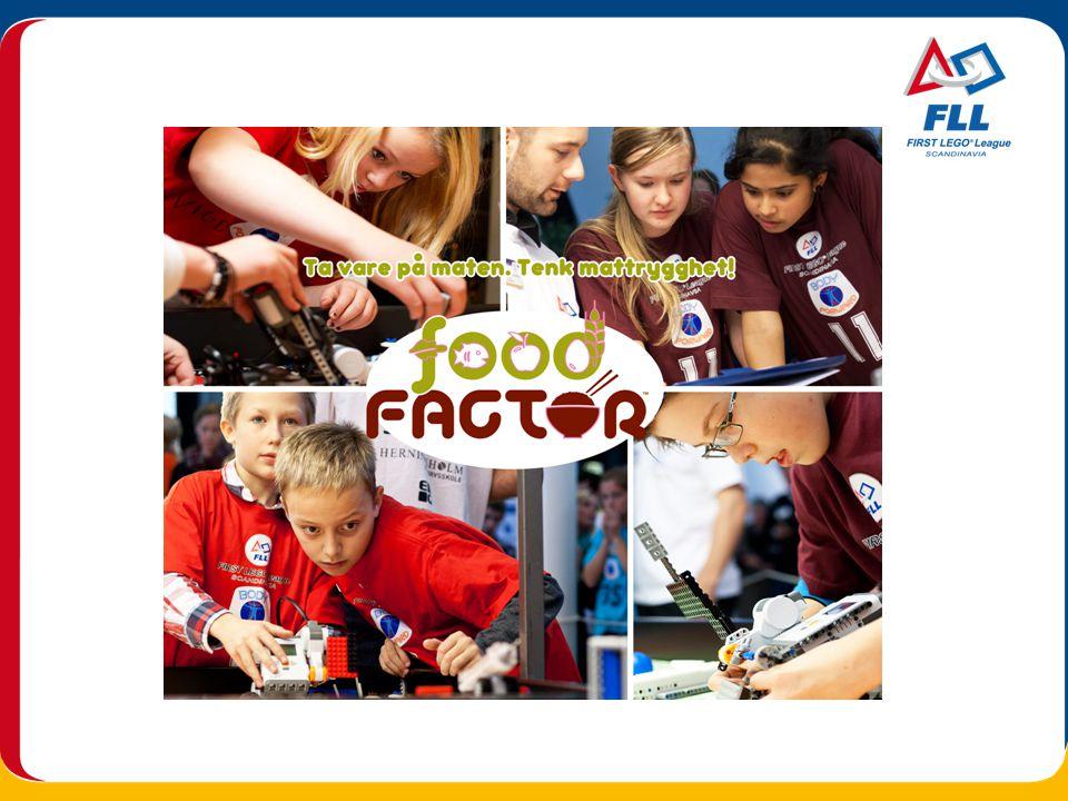 Stiftelsen FIRST Scandinavia står bakom FIRST LEGO League-turneringarna i Skandinavien Stiftelsens mål är att stimulera barns intresse för naturvetenskapeliga och tekniska/matematiska ämnen genom engagerande projekt där barnen själva är drivkraft FIRST LEGO League, Skandinavia