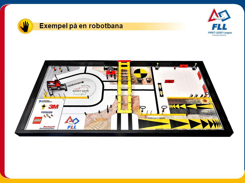Exempel på en robotbana