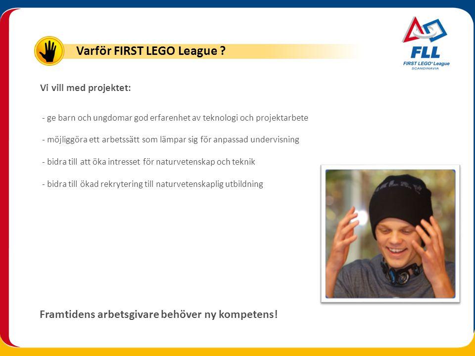 FIRST LEGO League Skandinavisk final 3 december på Gjøvik, Norge Laget består här av totalt 10 deltagare och 2 handledare Skandinavisk final
