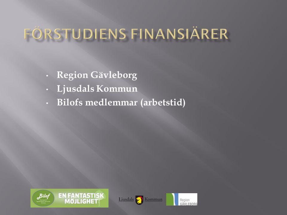 • Region Gävleborg • Ljusdals Kommun • Bilofs medlemmar (arbetstid)