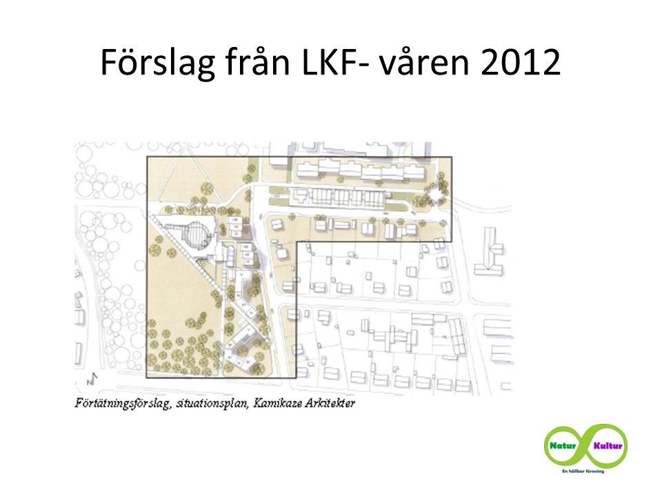 Förslag från LKF- våren 2012