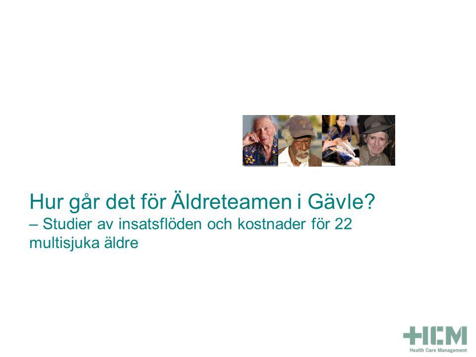 Hur går det för Äldreteamen i Gävle.