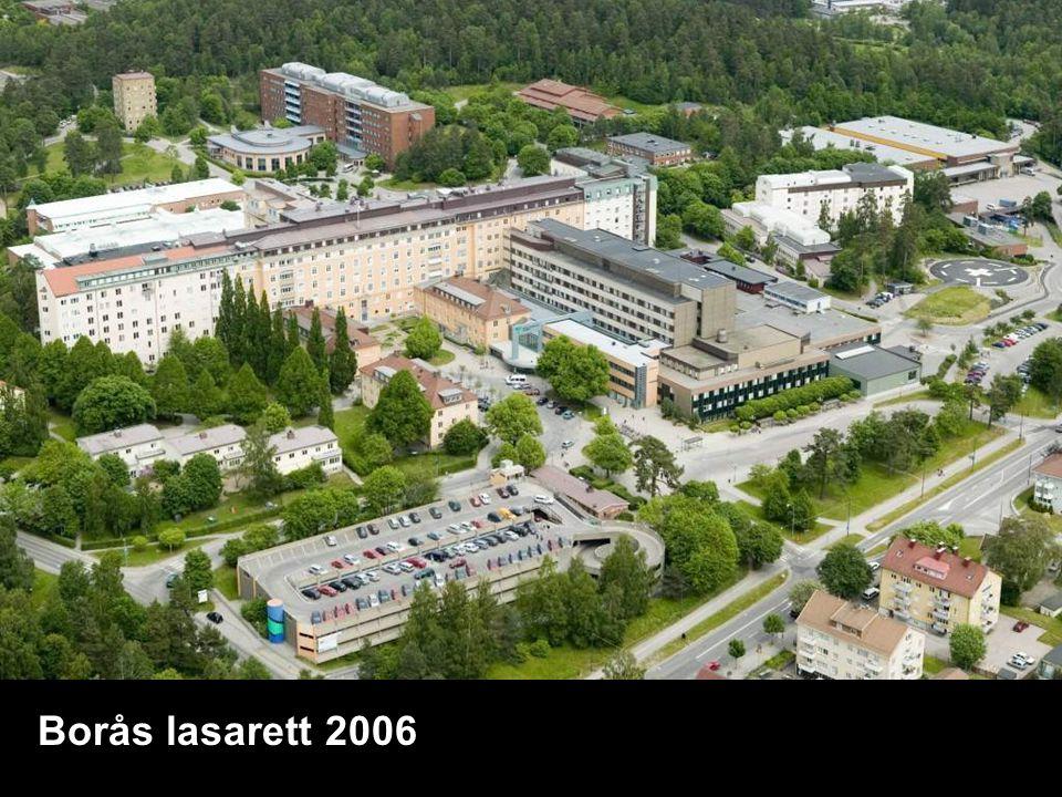 Södra Älvsborgs sjukhus Västfastigheter 2009-05-13 Borås lasarett 2006