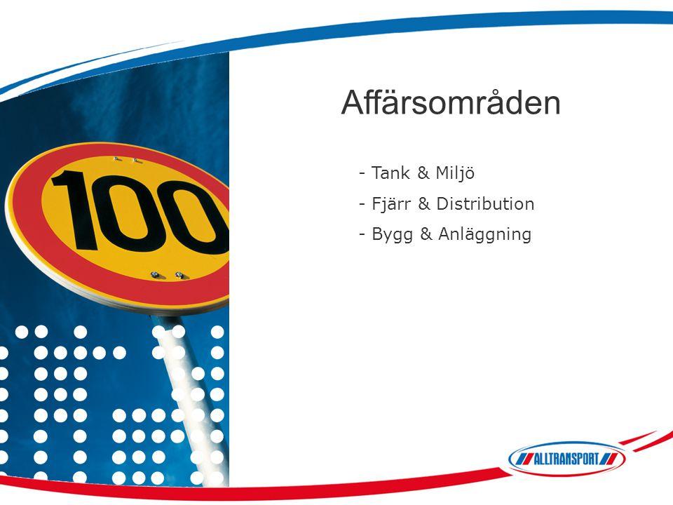 Affärsområden - Tank & Miljö - Fjärr & Distribution - Bygg & Anläggning