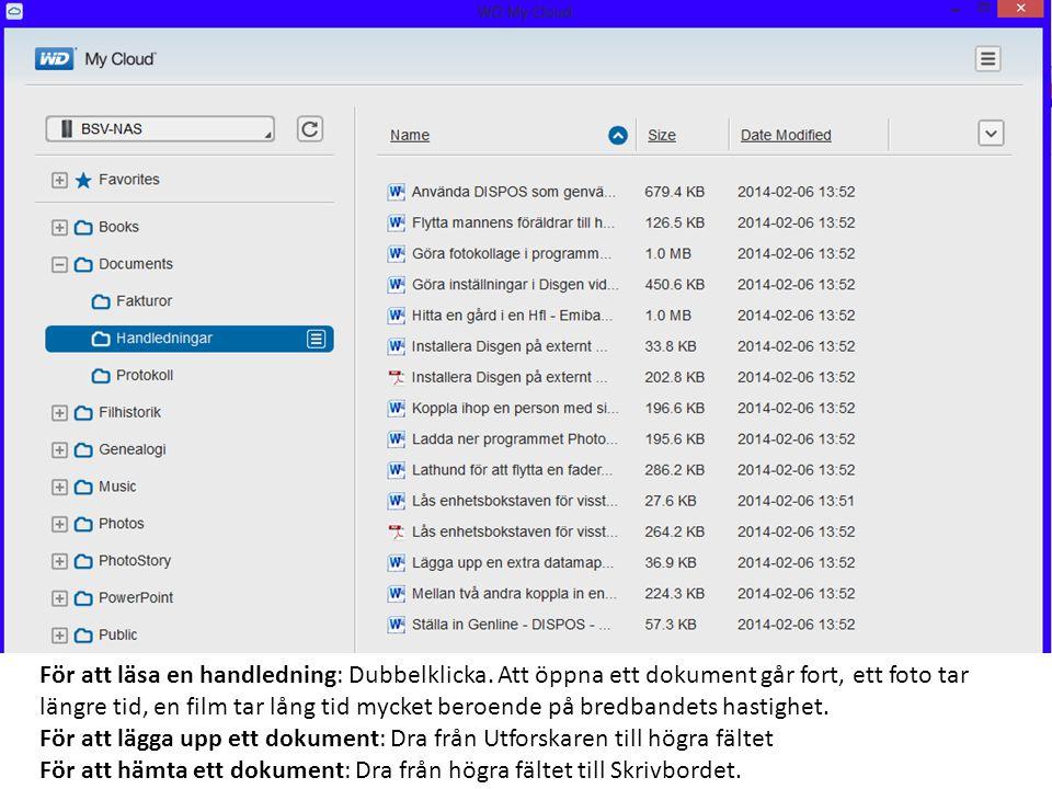 Klicka på + framför 2013 För att läsa en handledning: Dubbelklicka.