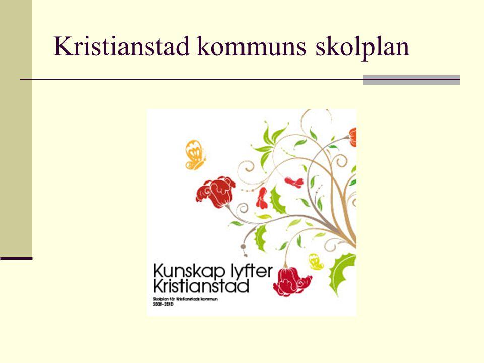 Kristianstad kommuns skolplan