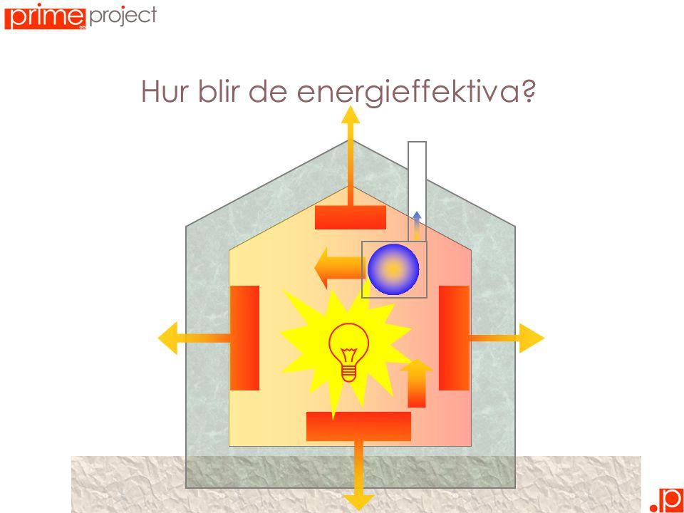 Hur blir de energieffektiva?