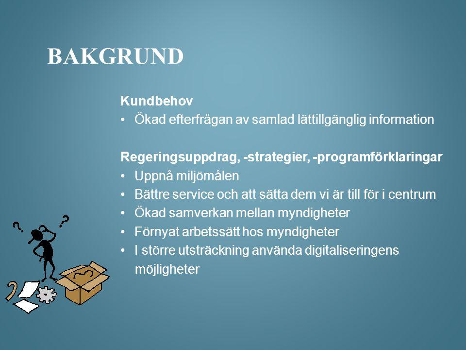 •Utforma modellen och anpassa information till målgruppens behov.