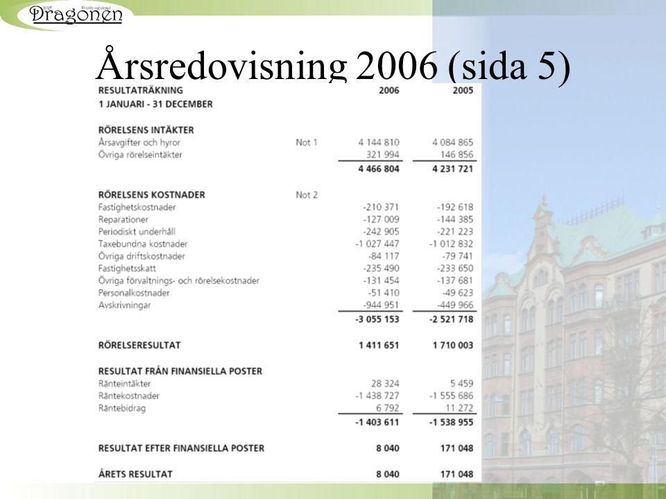 Årsredovisning 2006 (sida 5)