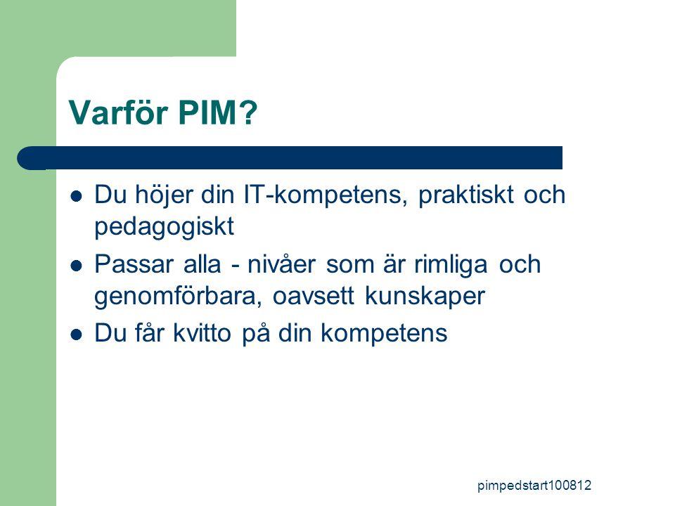 pimpedstart100812 Varför PIM.