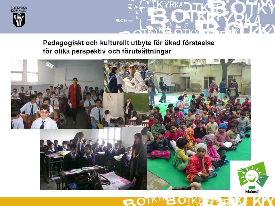Pedagogiskt och kulturellt utbyte för ökad förståelse för olika perspektiv och förutsättningar