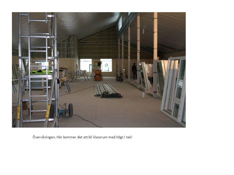 Huset ska klara miljöklass silver och det innebär att huset måste vara tätt.