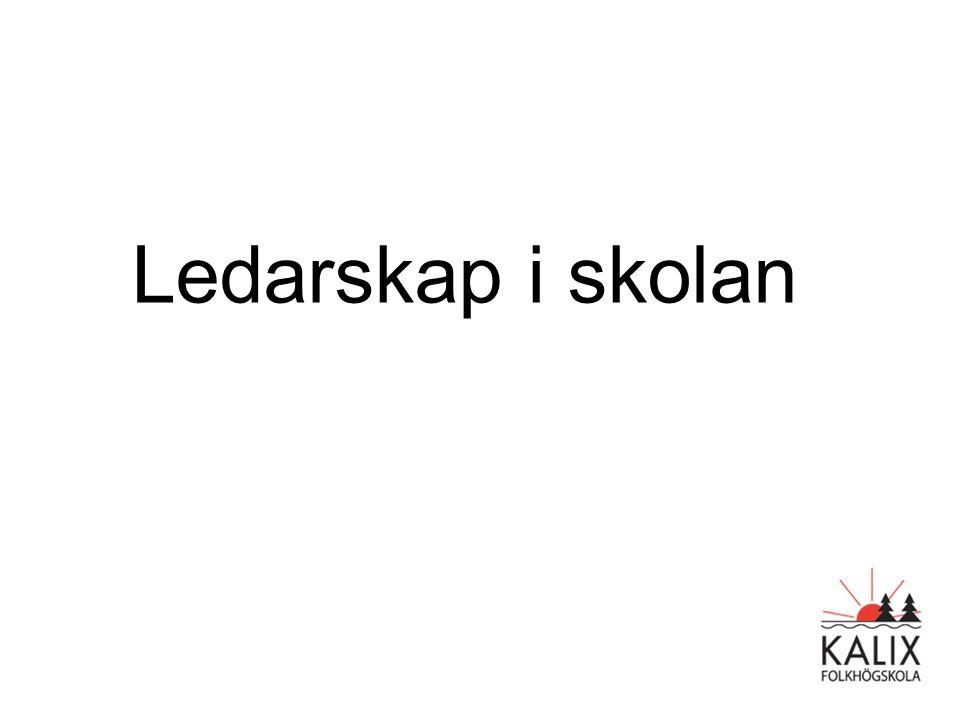 Ledarskap i skolan