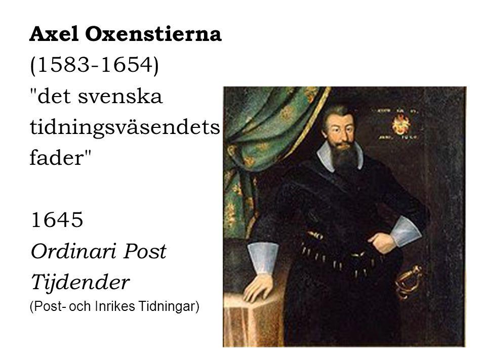 Axel Oxenstierna (1583-1654)