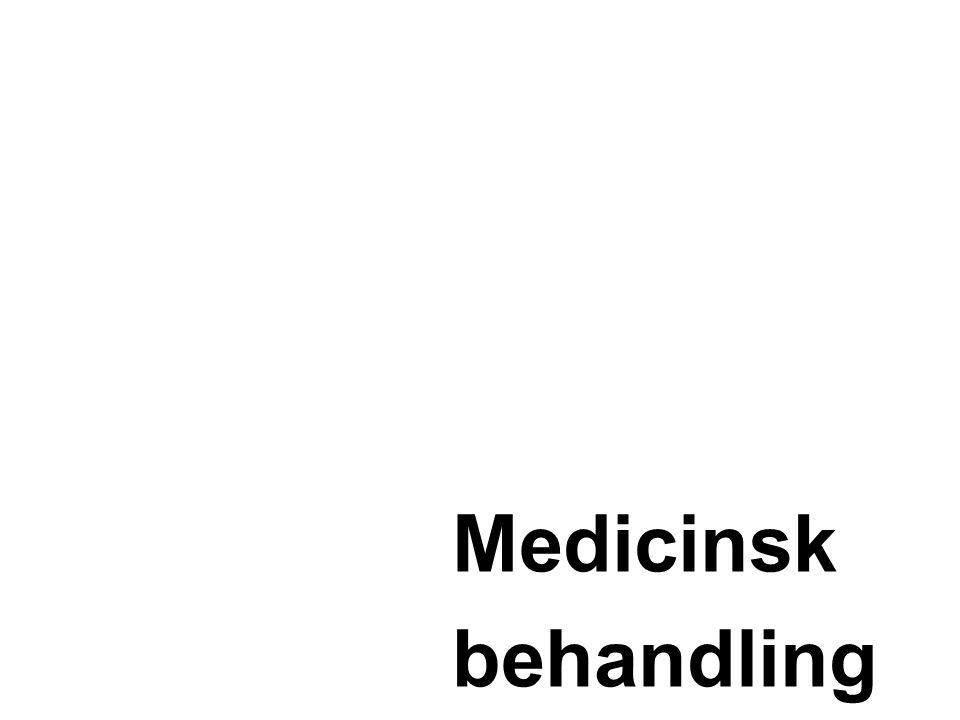 Medicinsk behandling •Symtomatiskt Kolinesteras hämmare (Aricept, Exelon, Reminyl) •Memantin (Ebixa) •Sjukdomsbromsande •-Propentofylin •-Anti amyloid läkemedel •Regenerativa nervcells återskapande •Tillväxtfaktorer •Profylaktisk behandling •Antioxidanter (vitamin E och C, selen) •Anti inflammatoriska ämnen •Födoämnen Behandla tilläggs diagnoser Uppföljning Mycket viktigt