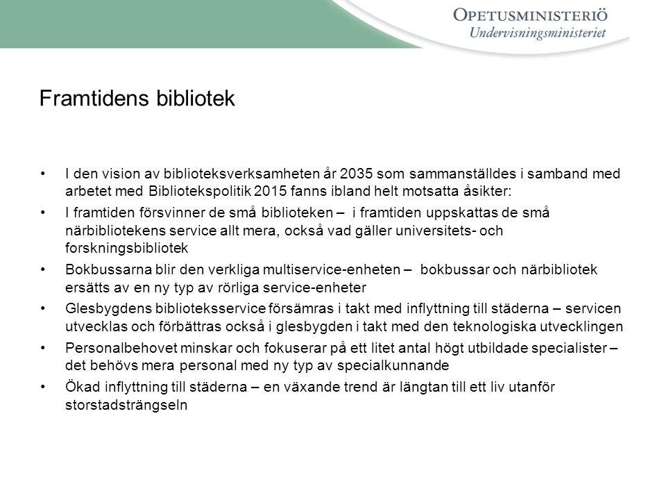 Det europeiska bibliotekssamarbetet •Årets gemensamma konferens för EBLIDA och de europeiska biblioteks- myndigheterna, NAPLE, hålls i Köpenhamn 11.5.