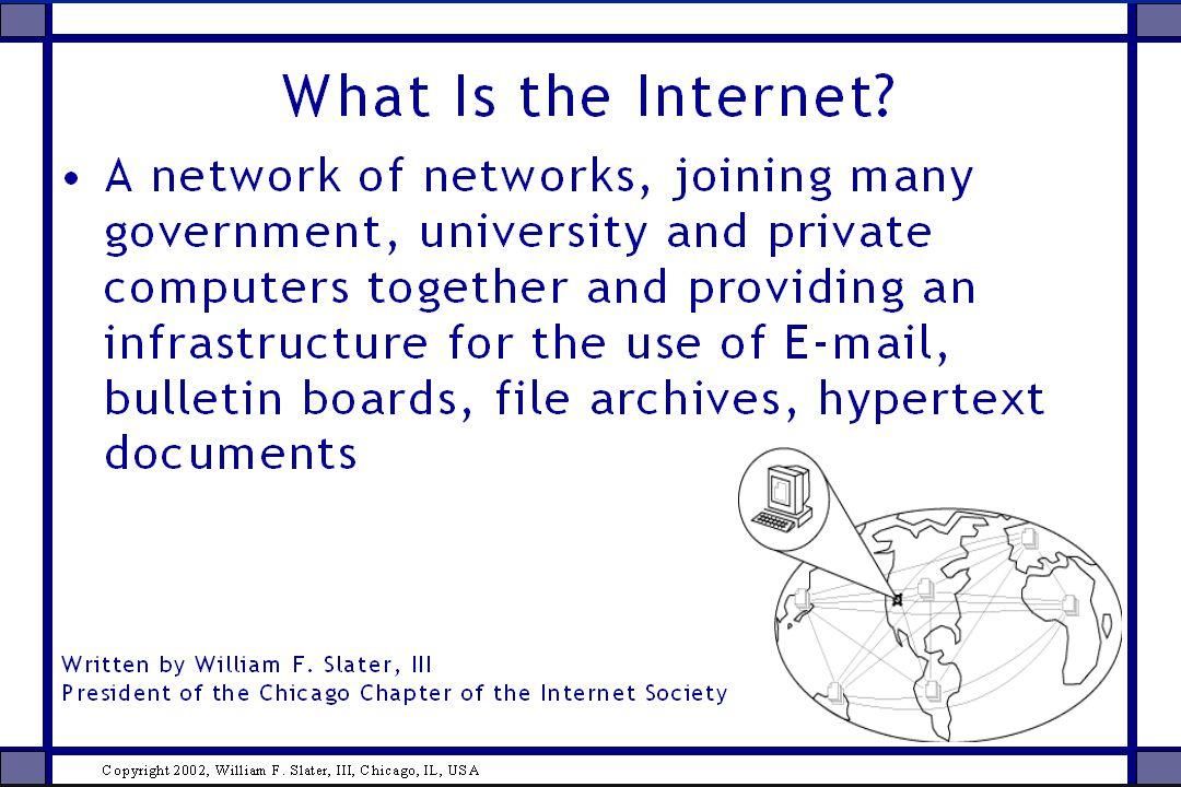 25 Varför bör forskare satsa på Internet.