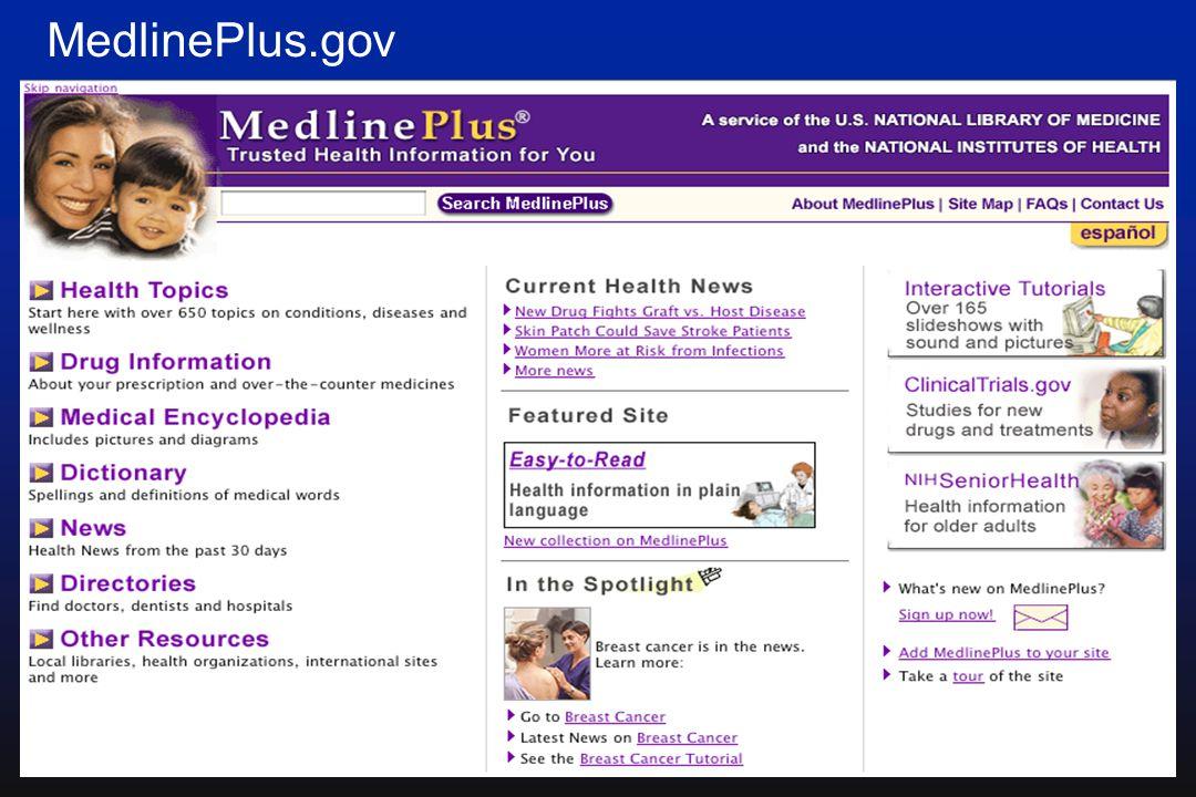42 MedlinePlus.gov