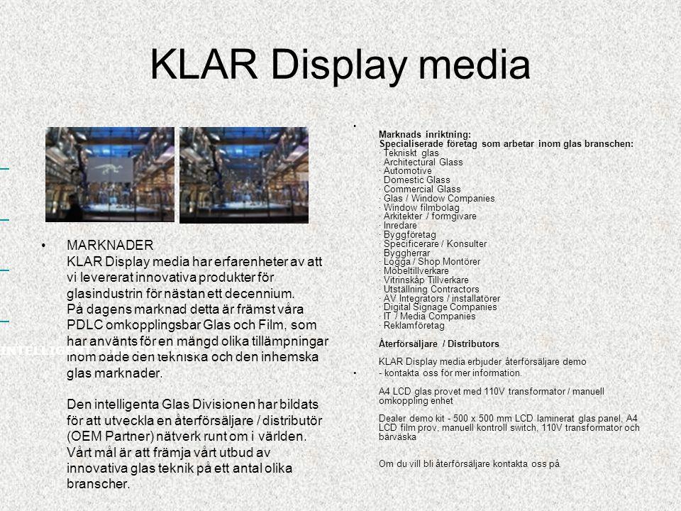 KLAR Display media http://www.prodisplay.com/prodisplay/userfiles /File/grand-designs-glass.jpg När du vill ha den maximala hemma bio känslan med en möjlighet att dölja / gömma allt eller ha en annorlunda placering (glasklar i viloläge)