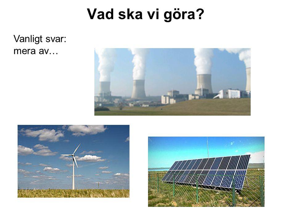 Överblick: Belysningen i Sverige OmrådeNuvarande förbrukning [TWh] Sparpotential [TWh] Hembelysning4.02.0 Vägbelysning1.50.4 Kommersiella och offentliga lokaler 5.52.5 Industri3.01.3 Totalt14.06.2