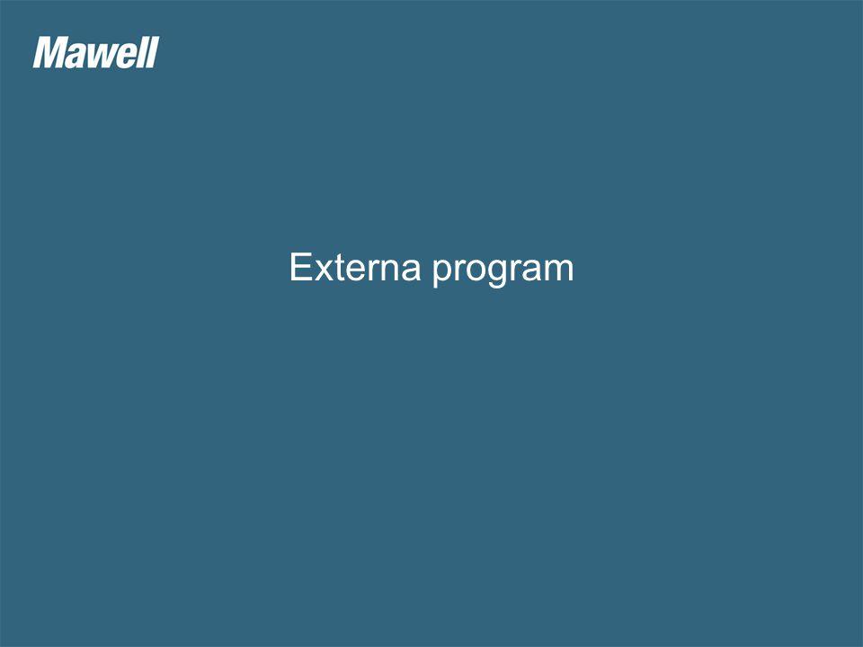 Externa program