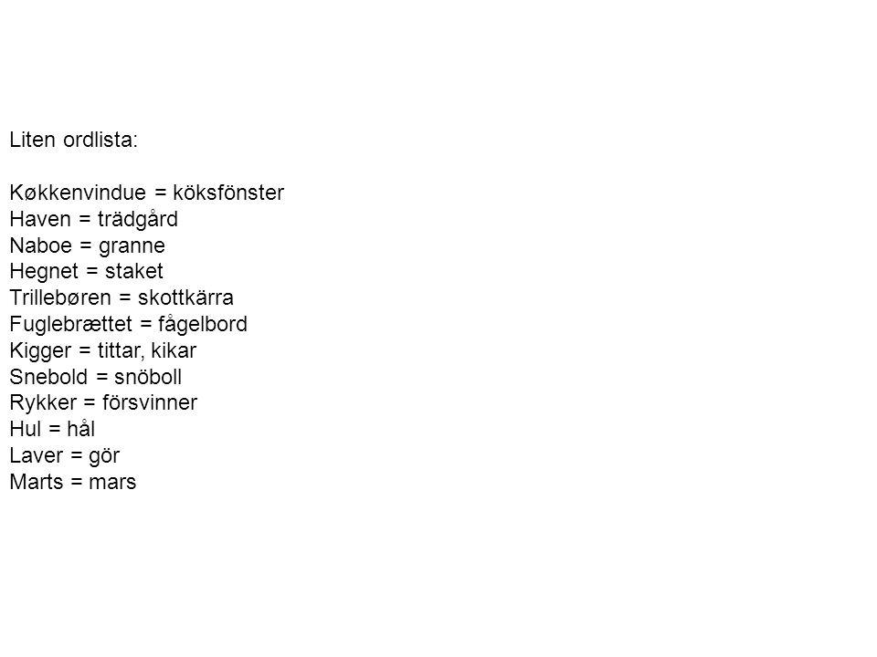 Färöiska och grönländska http://www.youtube.com/watch?v=brw mKI9bsTk&list=PLFF9C0A94E8D79A 90&index=10&feature=plpp_video •Tillhör båda Danmark •Har självstyre •Danska som andraspråk