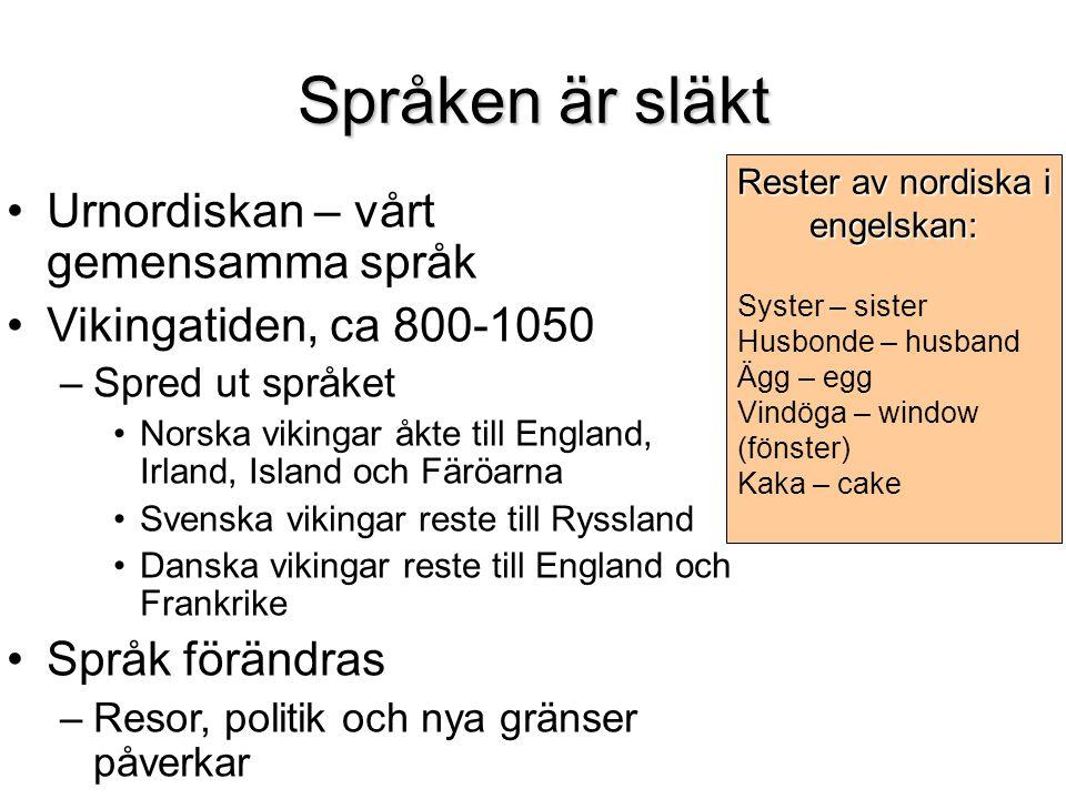 Skandinaviska.Vad är det.