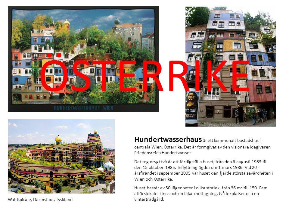 Hundertwasserhaus är ett kommunalt bostadshus i centrala Wien, Österrike. Det är formgivet av den visionäre idégivaren Friedensreich Hundertwasser Det