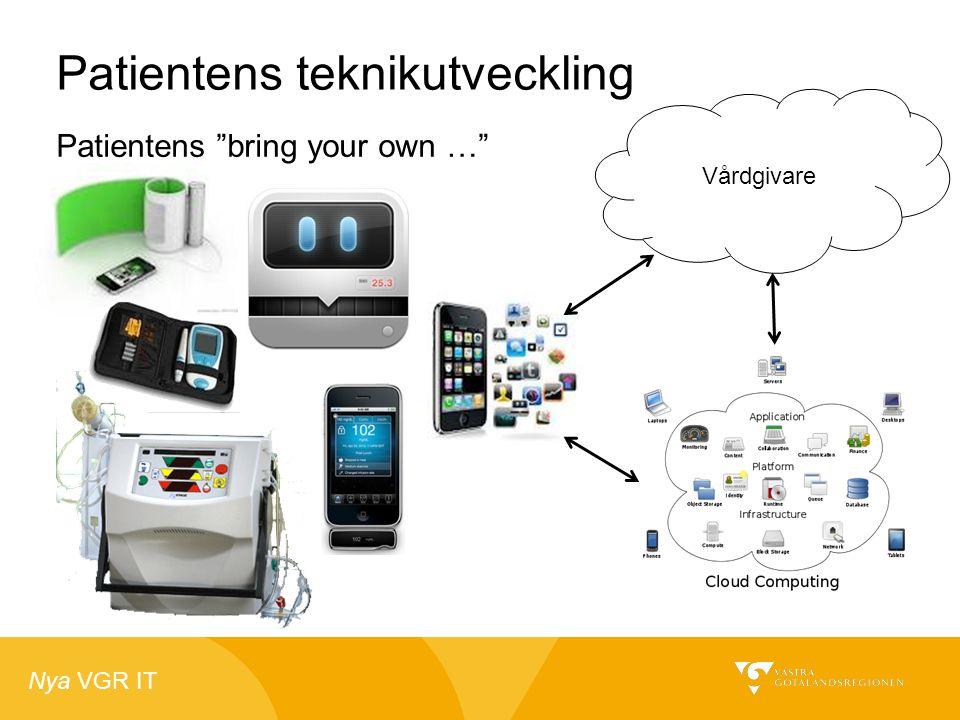 """Nya VGR IT Vårdgivare Patientens teknikutveckling Patientens """"bring your own …"""""""