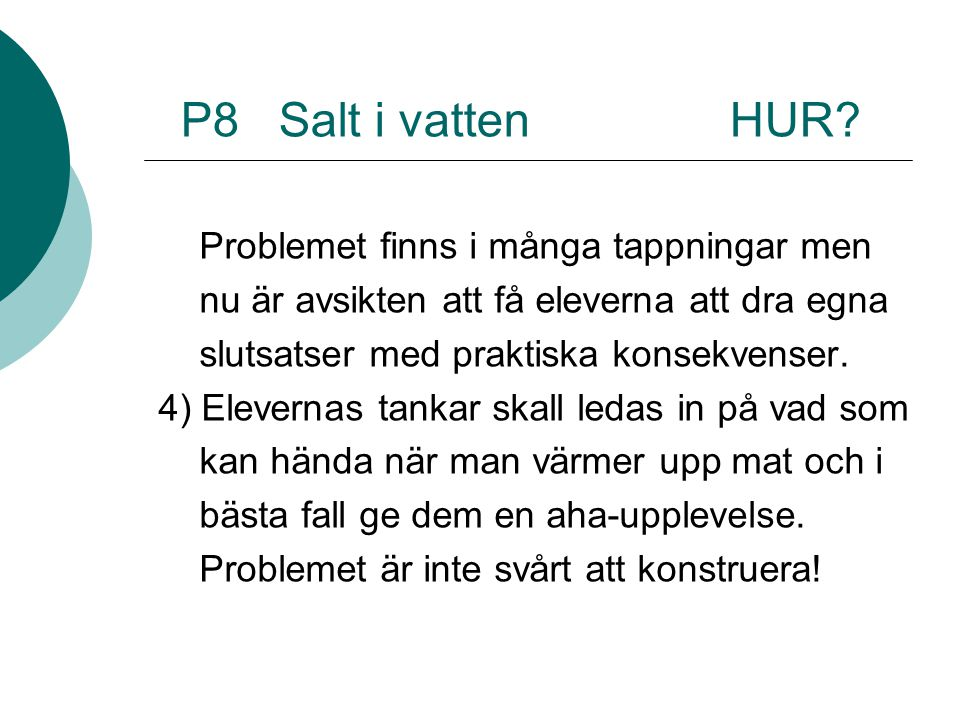 P8 Salt i vatten HUR.
