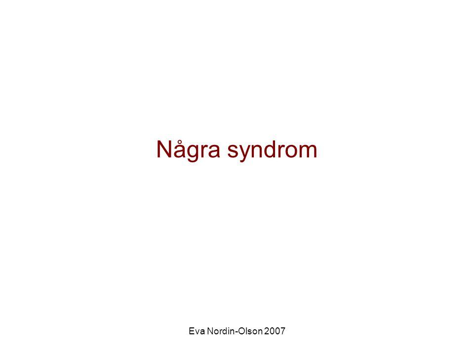 Några syndrom