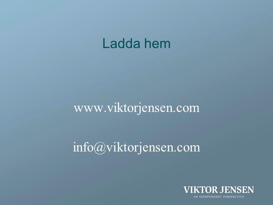 Ladda hem www.viktorjensen.com info@viktorjensen.com