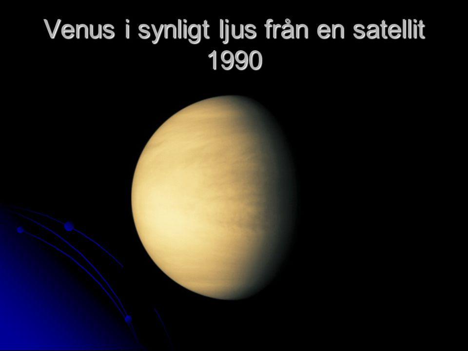Venus i synligt ljus från en satellit 1990