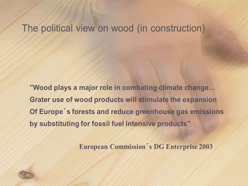 Pris i Sverige för byggmaterial : Trä konkurrenskraftigt jämfört med konkurrerande material?
