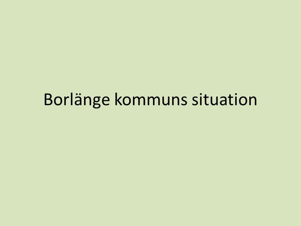 Borlänge kommuns situation