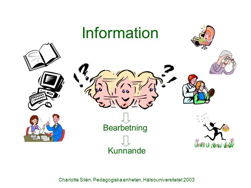 Information Bearbetning Kunnande
