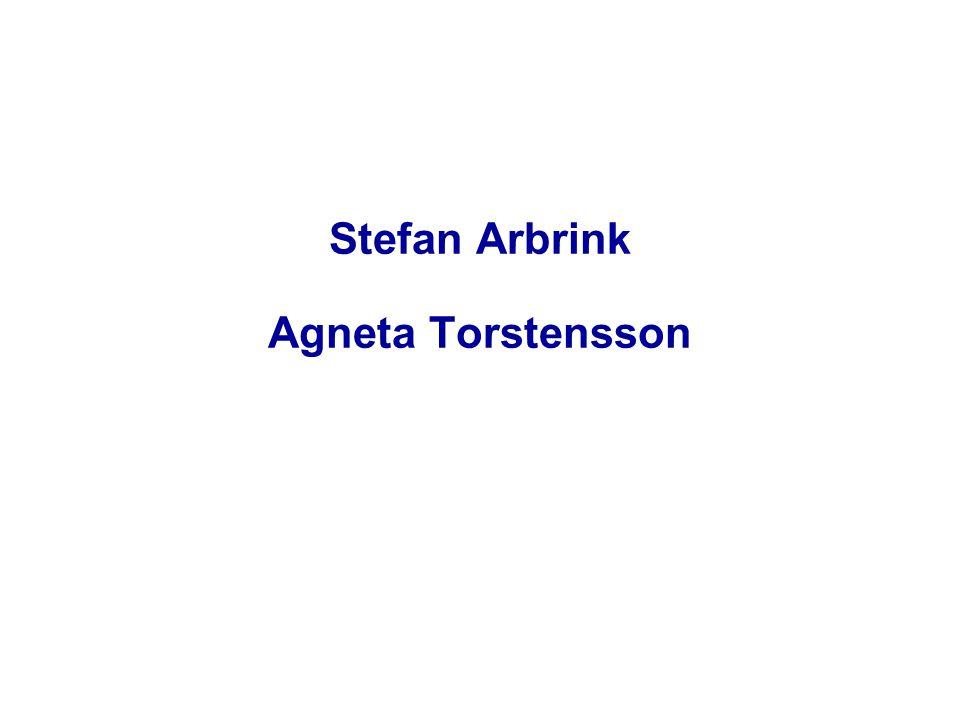 Stefan Arbrink Agneta Torstensson