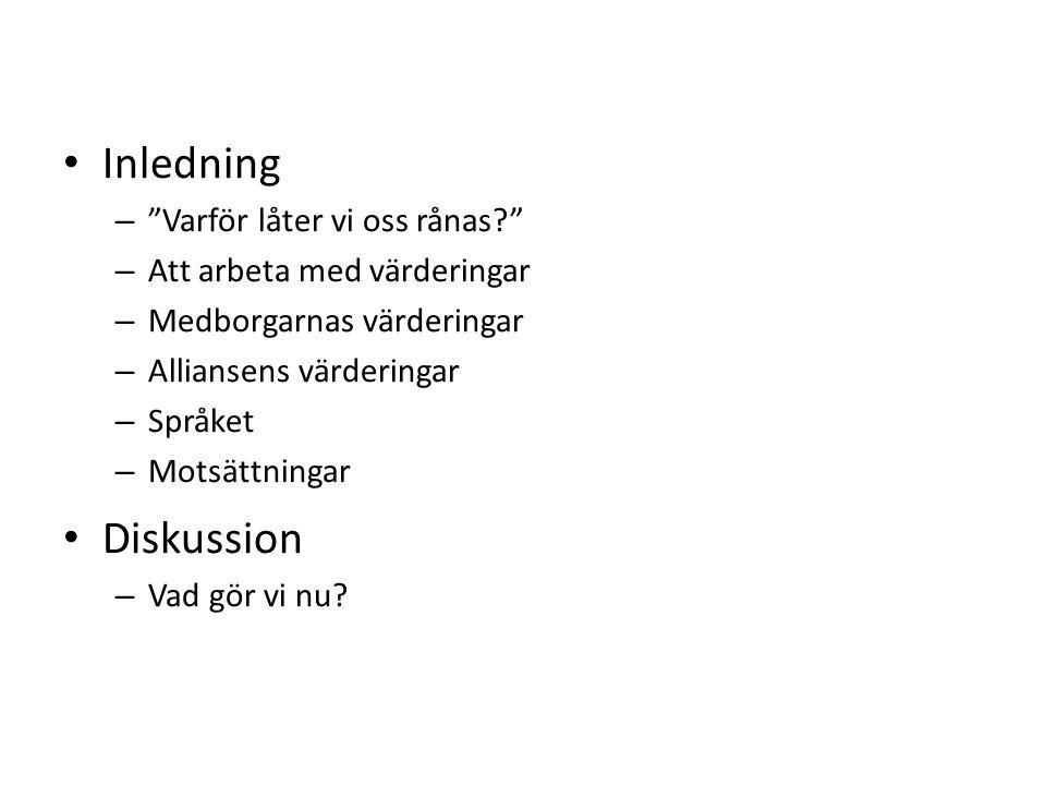 Att dölja sina värderingar Stockholms stad lät förskolechefen i Årsta ta över fyra förskolor.