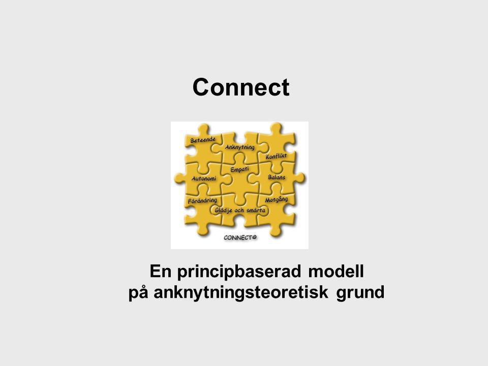 Connect En principbaserad modell på anknytningsteoretisk grund