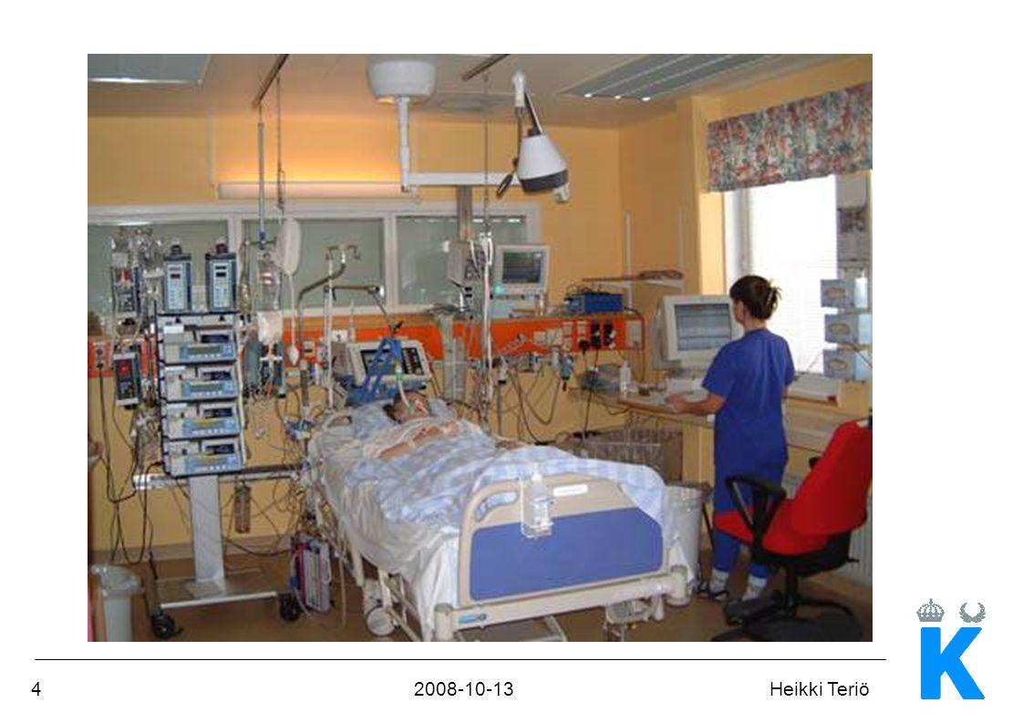 52008-10-13Heikki Teriö Bestämmelser EU-direktivet 93/43/EEC, medicintekniska produkter, Medical Device Directive Lag om medicintekniska produkter SFS 1993:584 LVFS 2004:11 Föreskrifter för medicintekniska produkter SOSFS 2008:1 Användning av medicintekniska produkter i hälso- och sjukvården