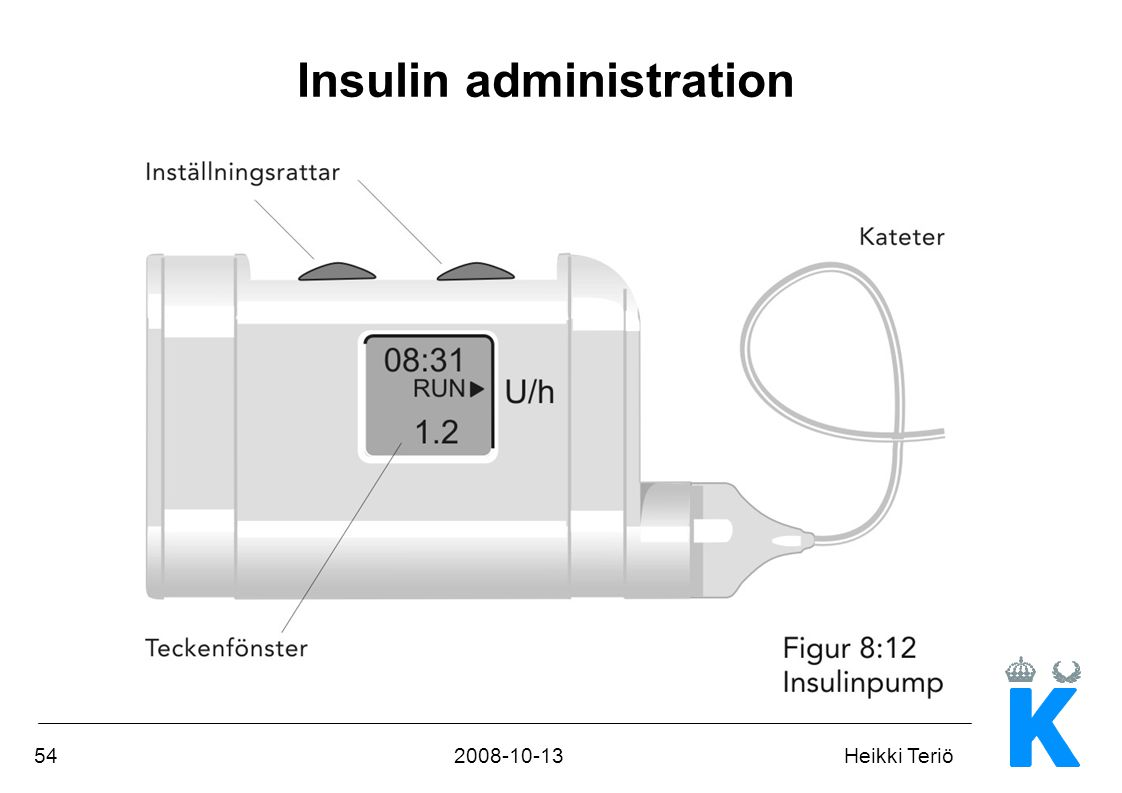 542008-10-13Heikki Teriö Insulin administration