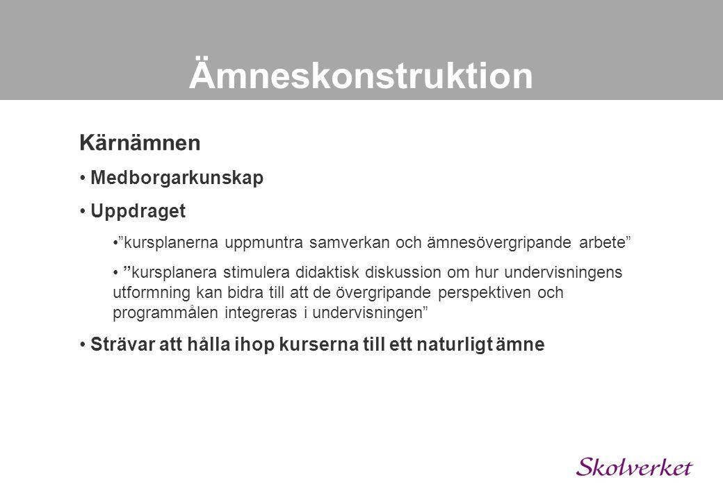 Ämneskonstruktion Exempel – Arkitektur Arkitektur Allmän 100p Arkitektur Inredning 100p Arkitektur Husbyggnad 100p Arkitektur Samhällsbyggande 100p