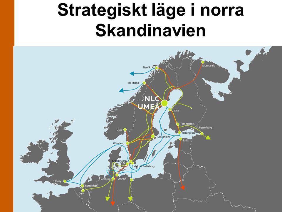 Strategiskt läge i norra Skandinavien