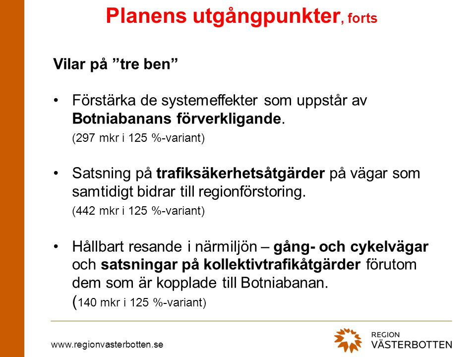 www.regionvasterbotten.se NLC PARK NLC TERMINAL SERVICEOMRÅDE