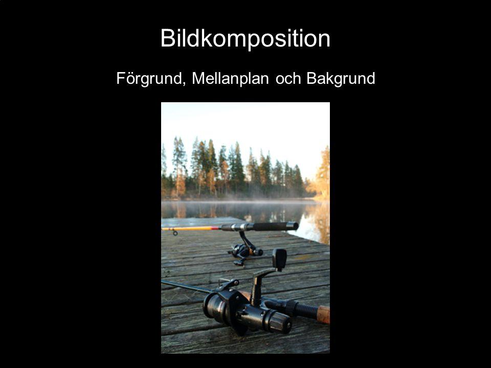 Bildkomposition Förgrund, Mellanplan och Bakgrund