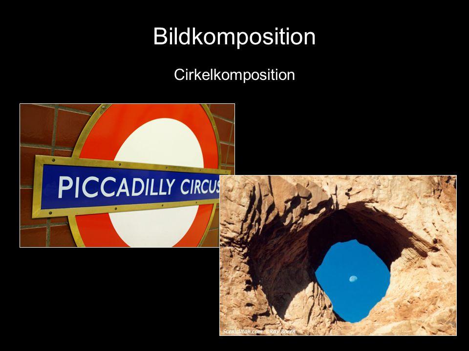 Bildkomposition Diagonal komposition Bildkomposition Cirkelkomposition