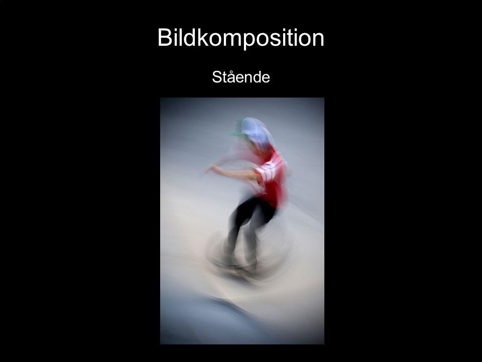 Bildkomposition Stående